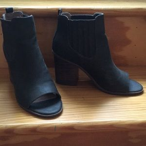 Open Toe Booties